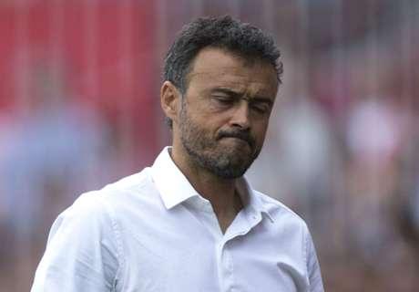 'No contact with Luis Enrique'