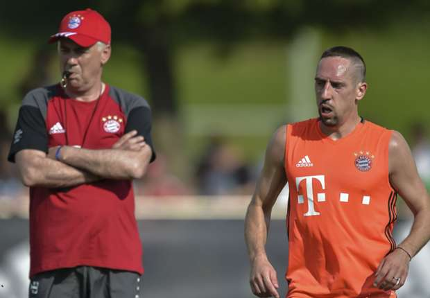 Ancelotti trusts me more than Guardiola - Ribery