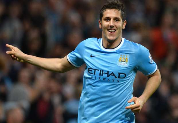 The pressure is on Liverpool, insists Manchester City forward Jovetic