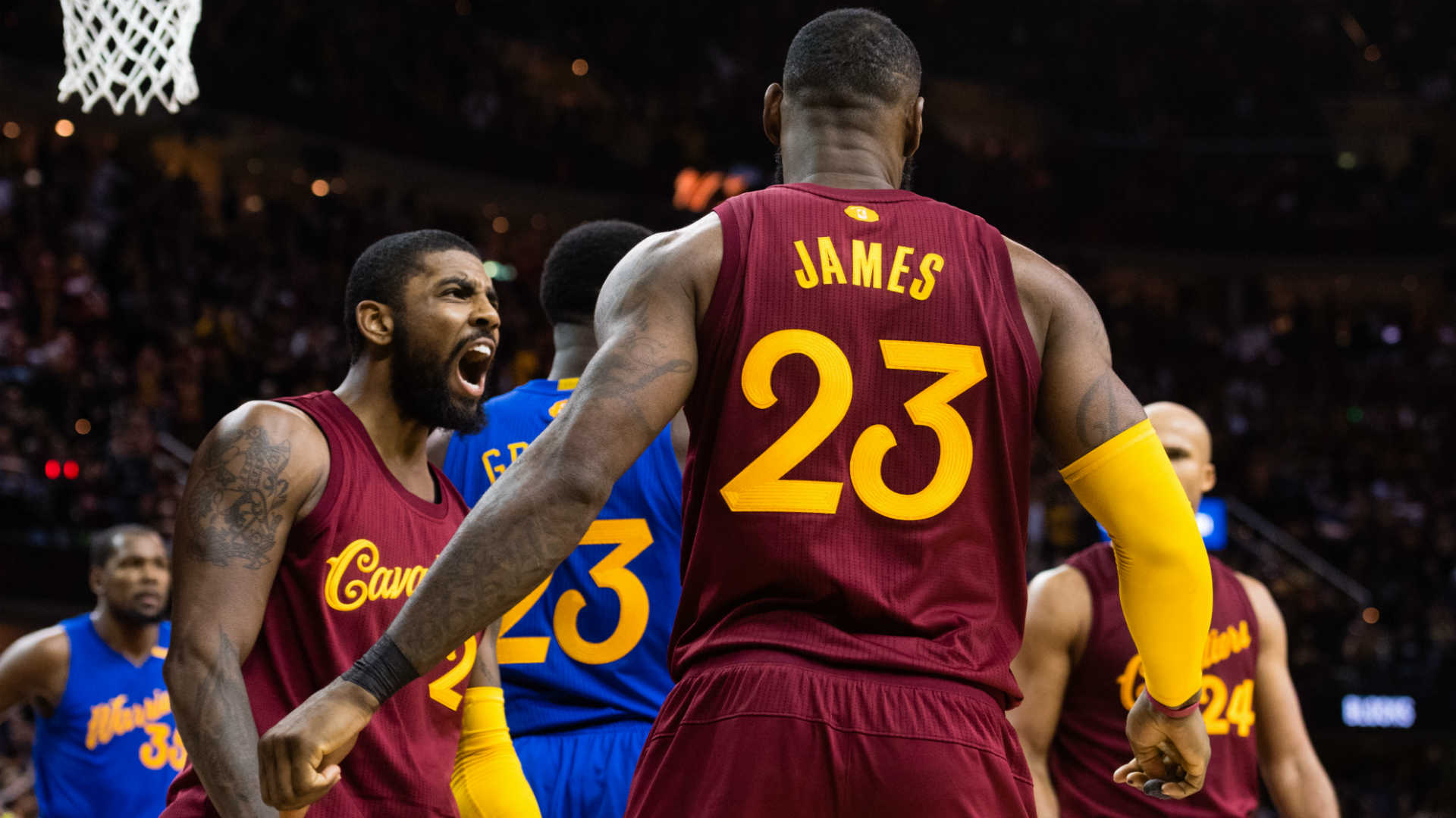 Incredible Warriors-Cavs matchup somehow surpasses Christmas hype ...