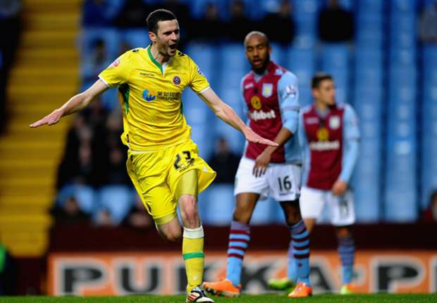 Aston Villa 1-2 Sheffield United: Shock cup exit heaps pressure on Lambert