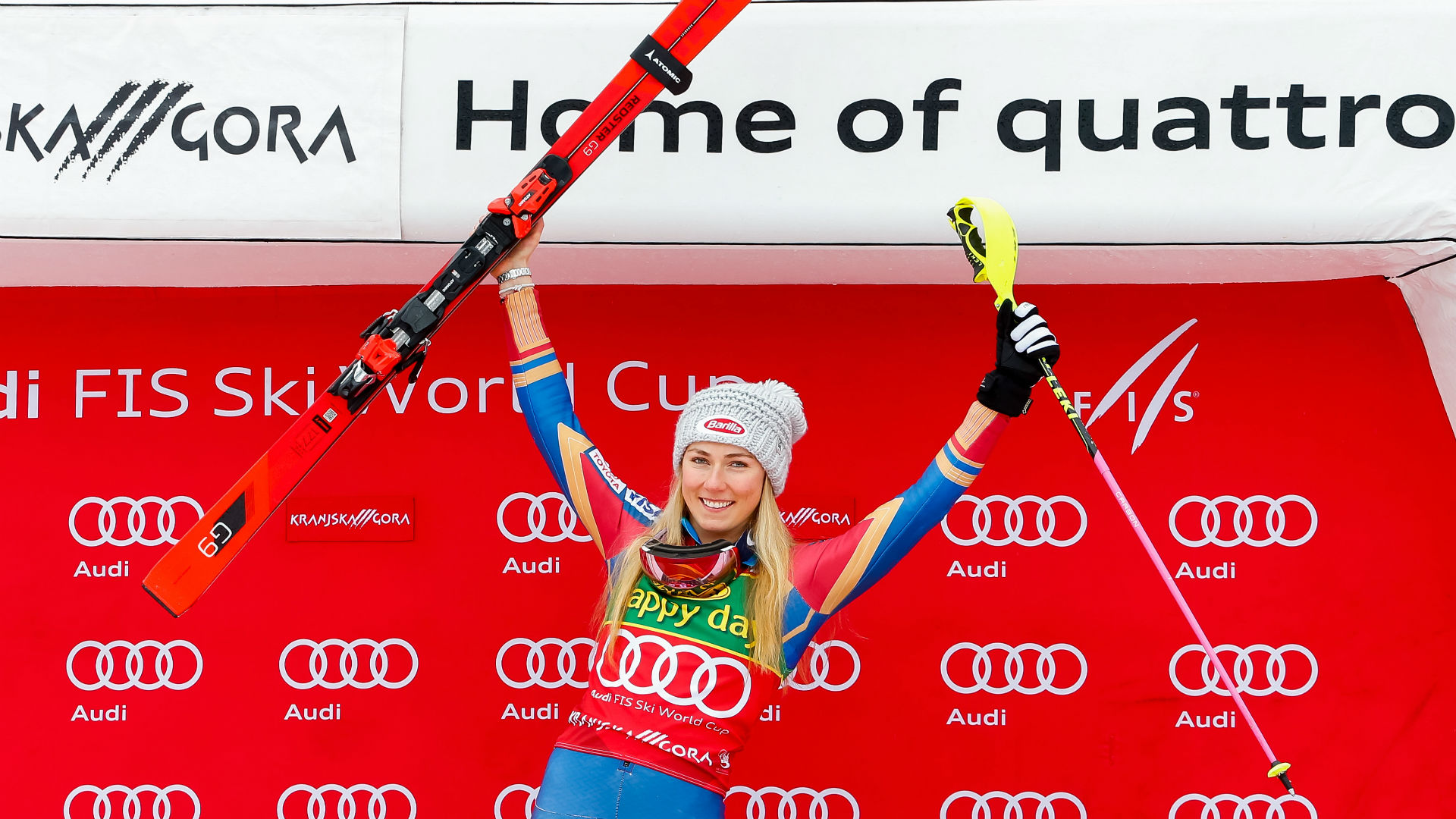Shiffrin wins fifth straight Word Cup race