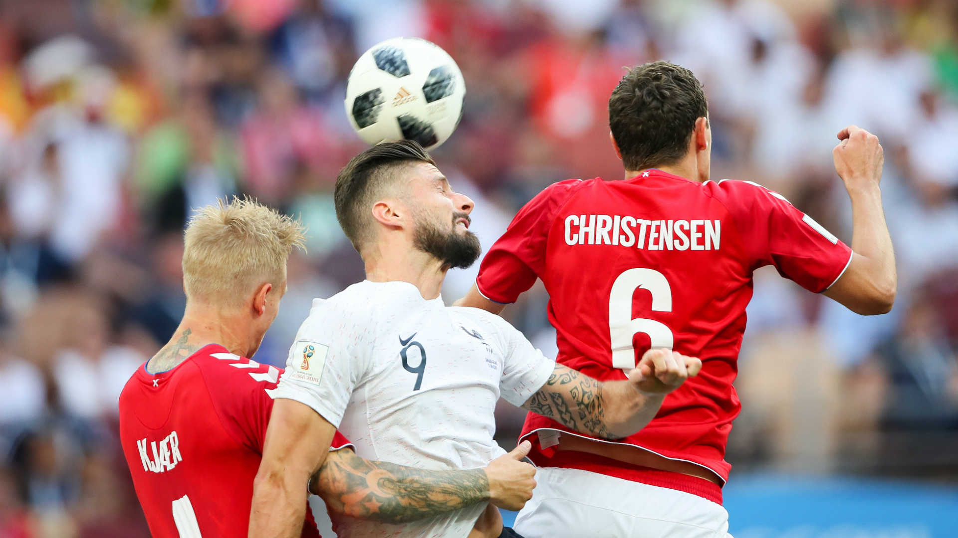 World Cup 2018: Denmark, France advance on tournament's first stalemate