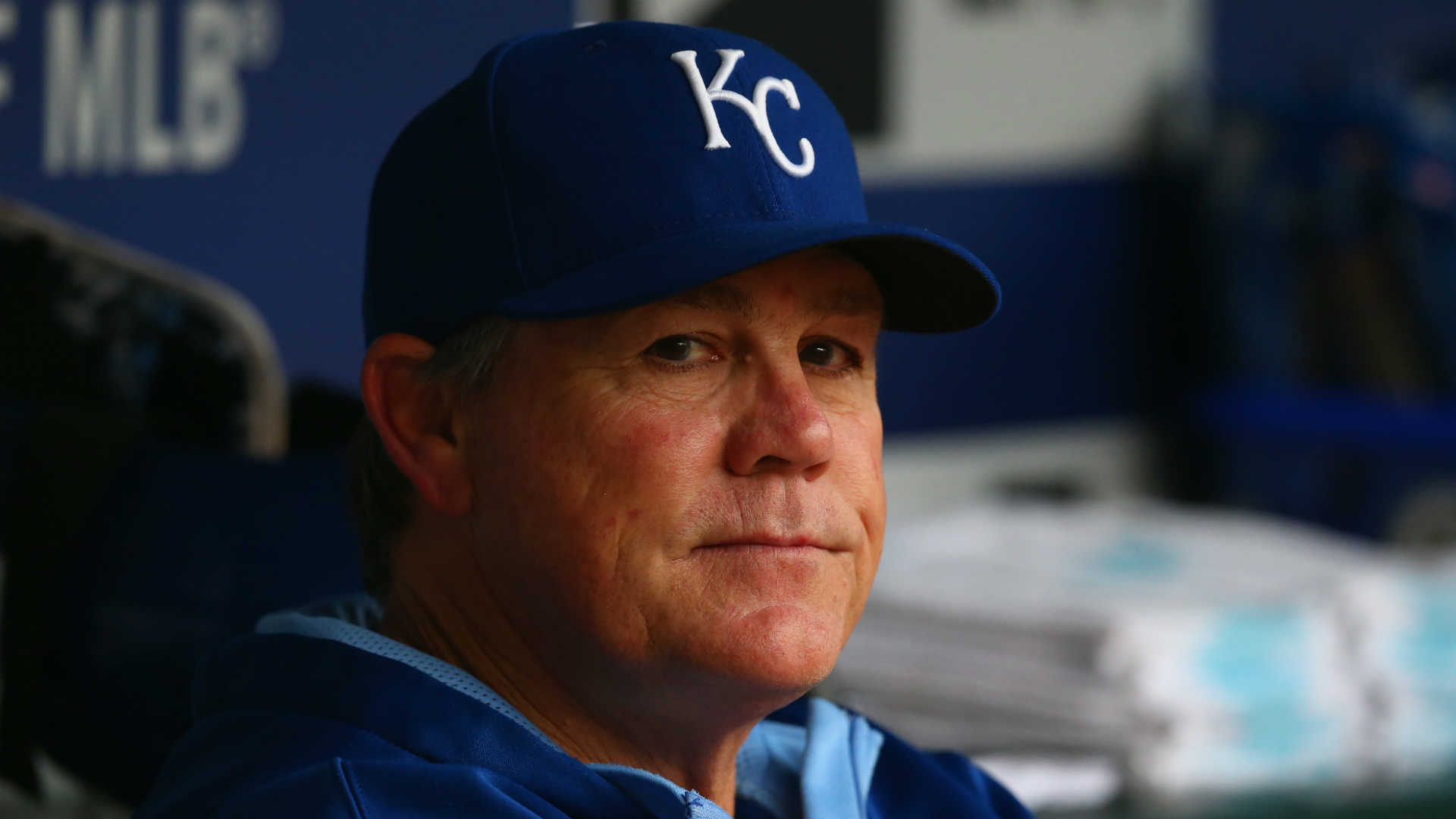 Royals manager Ned Yost