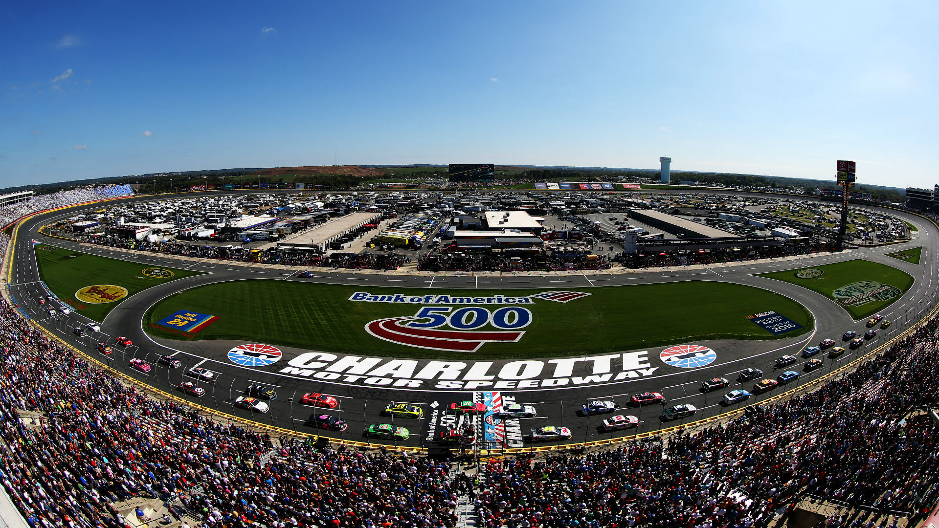 2018 nascar schedule release: charlotte's playoff race moved to