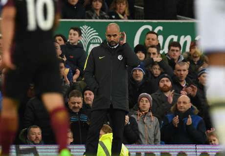 Guardiola: City struggling mentally