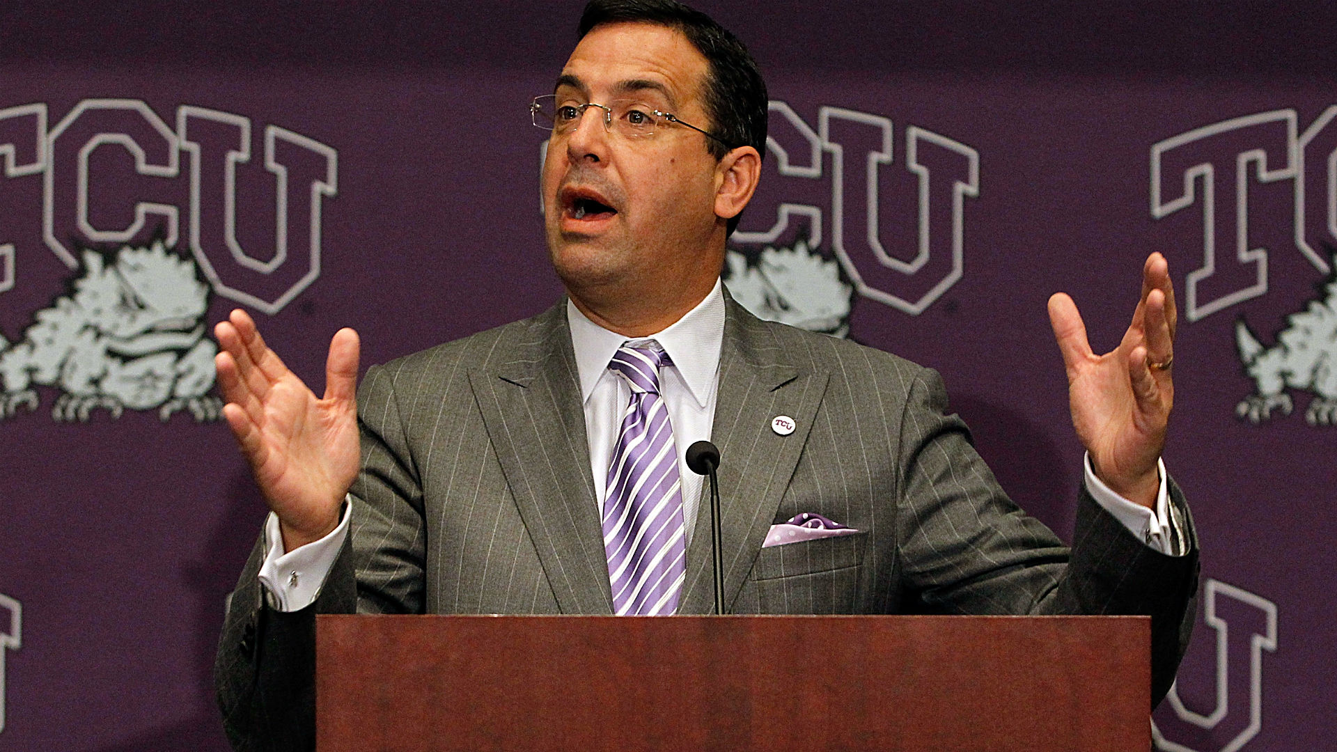 Gary Patterson: Chris Del Conte made a 'huge difference' at TCU