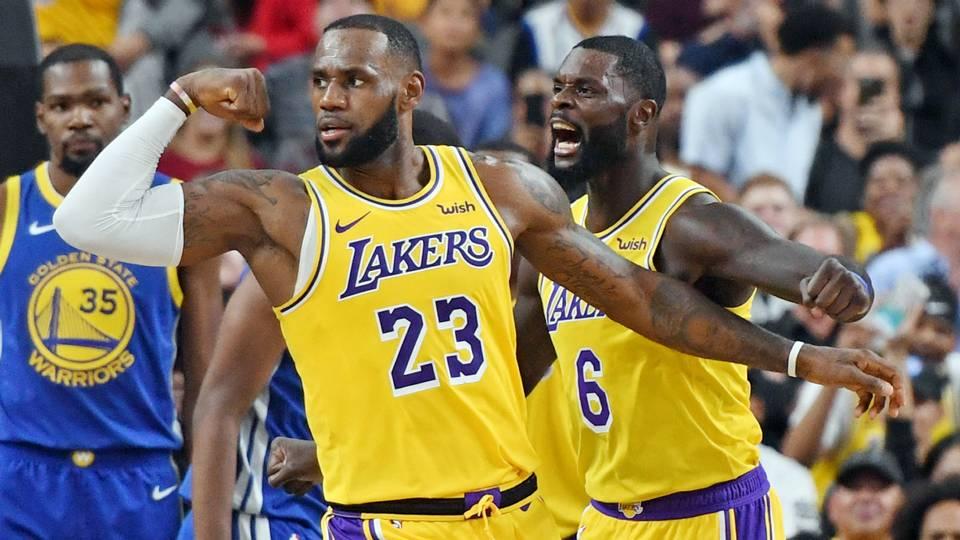 WATCH: LeBron James nails half-court buzzer-beater against Warriors