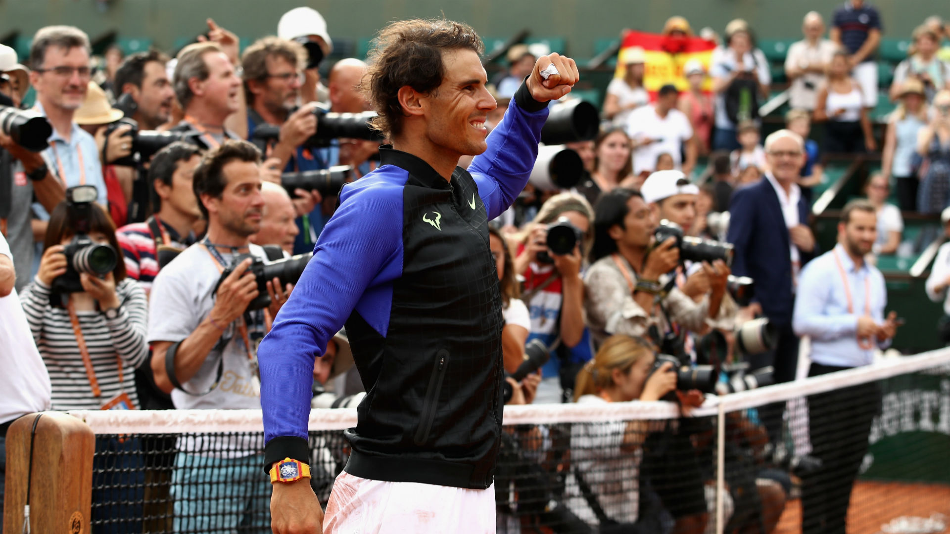 Rafael Nadal wins record 10th title
