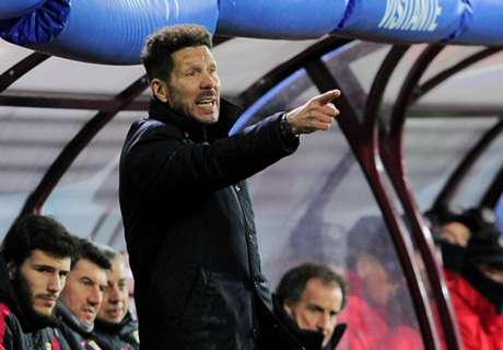 Simeone happy with squad rotation
