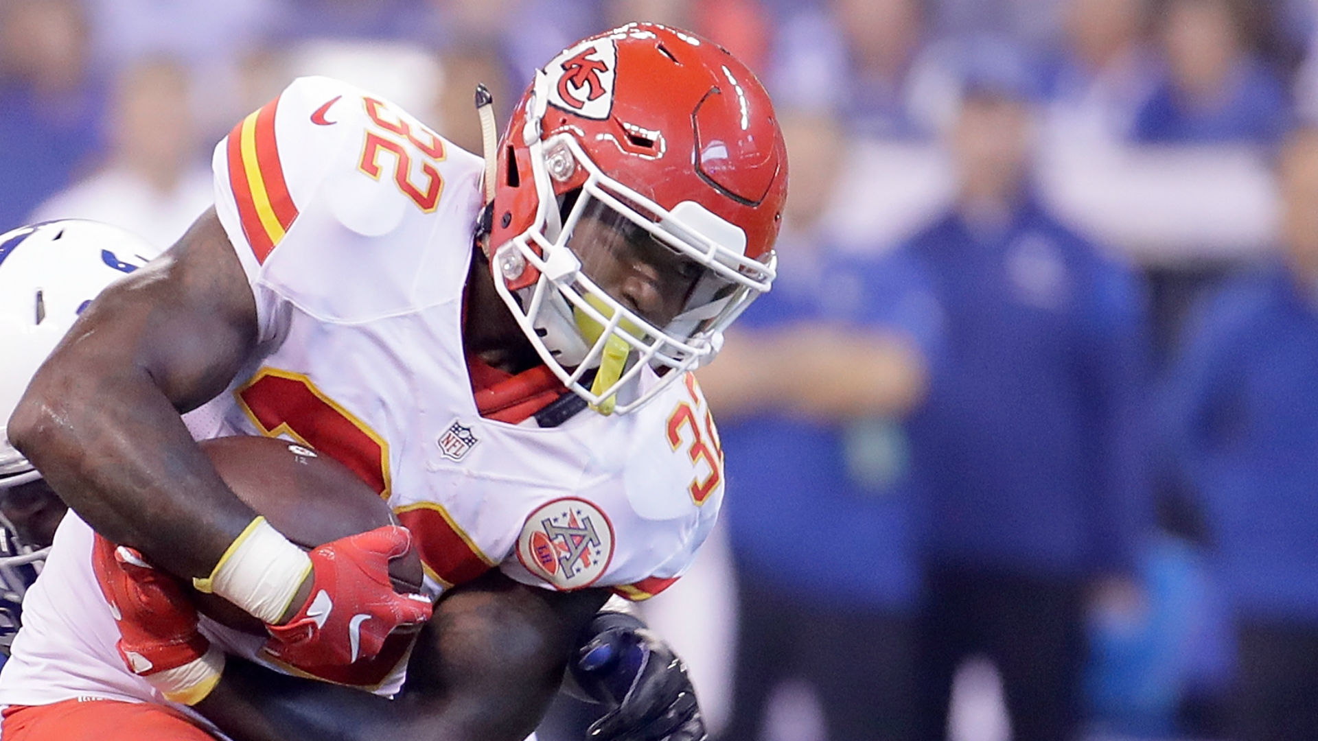 Chiefs RB Spencer Ware diagnosed with torn PCL