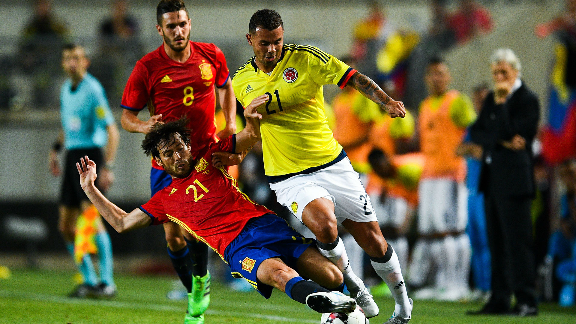 Morata saves Spain in four-goal Colombia thriller