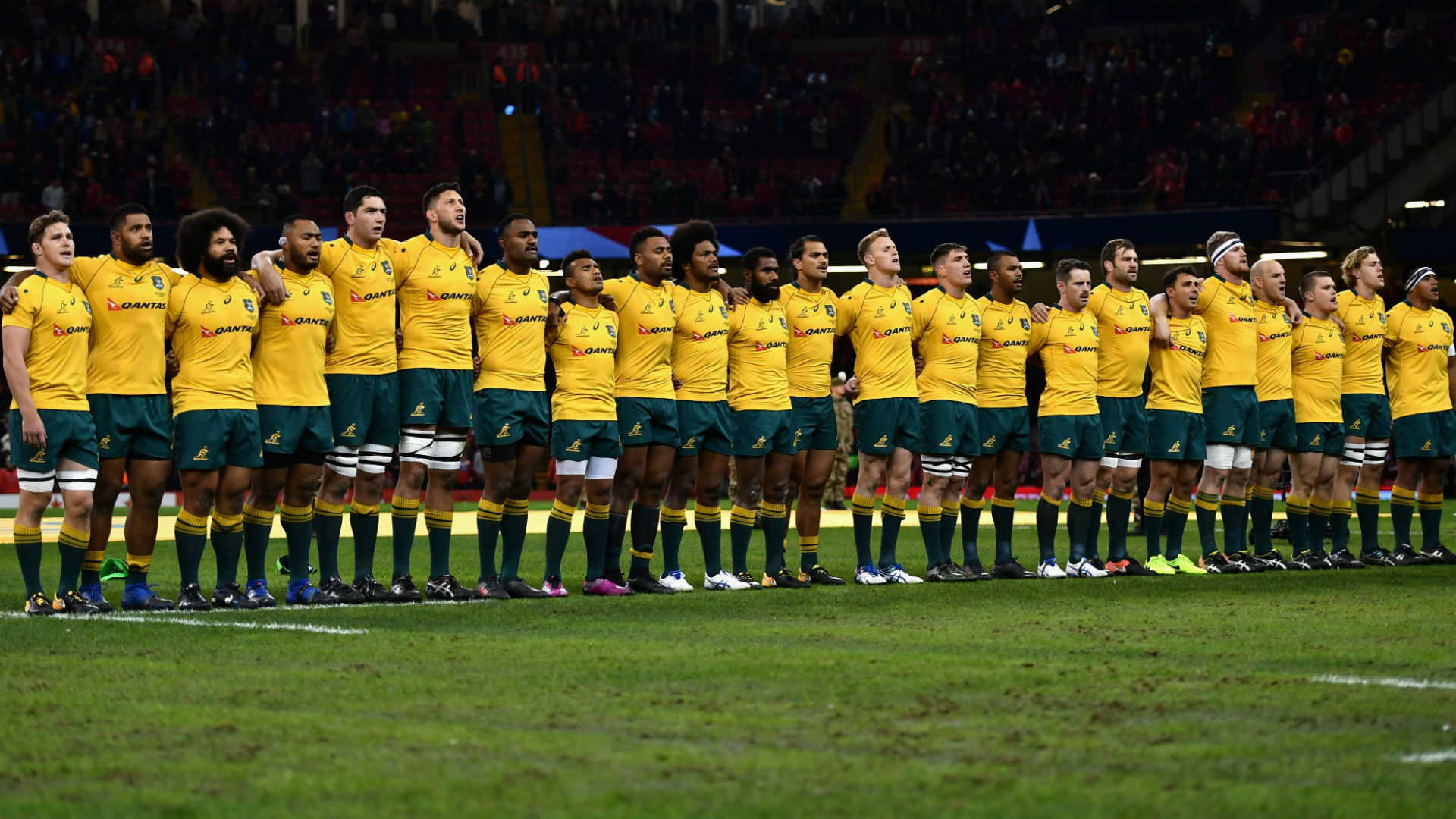 Australia name unchanged side for England Test at Twickenham