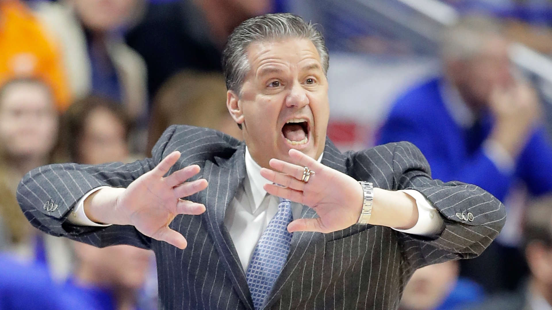 John Calipari: John Calipari Defends Fired N.C. State Mark Gottfried In