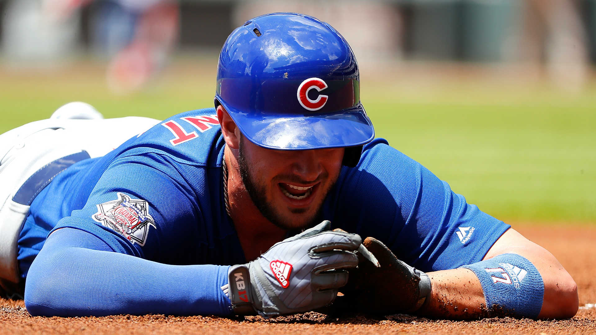 Kris Bryant Leaves Game vs. Braves After Suffering Finger Injury