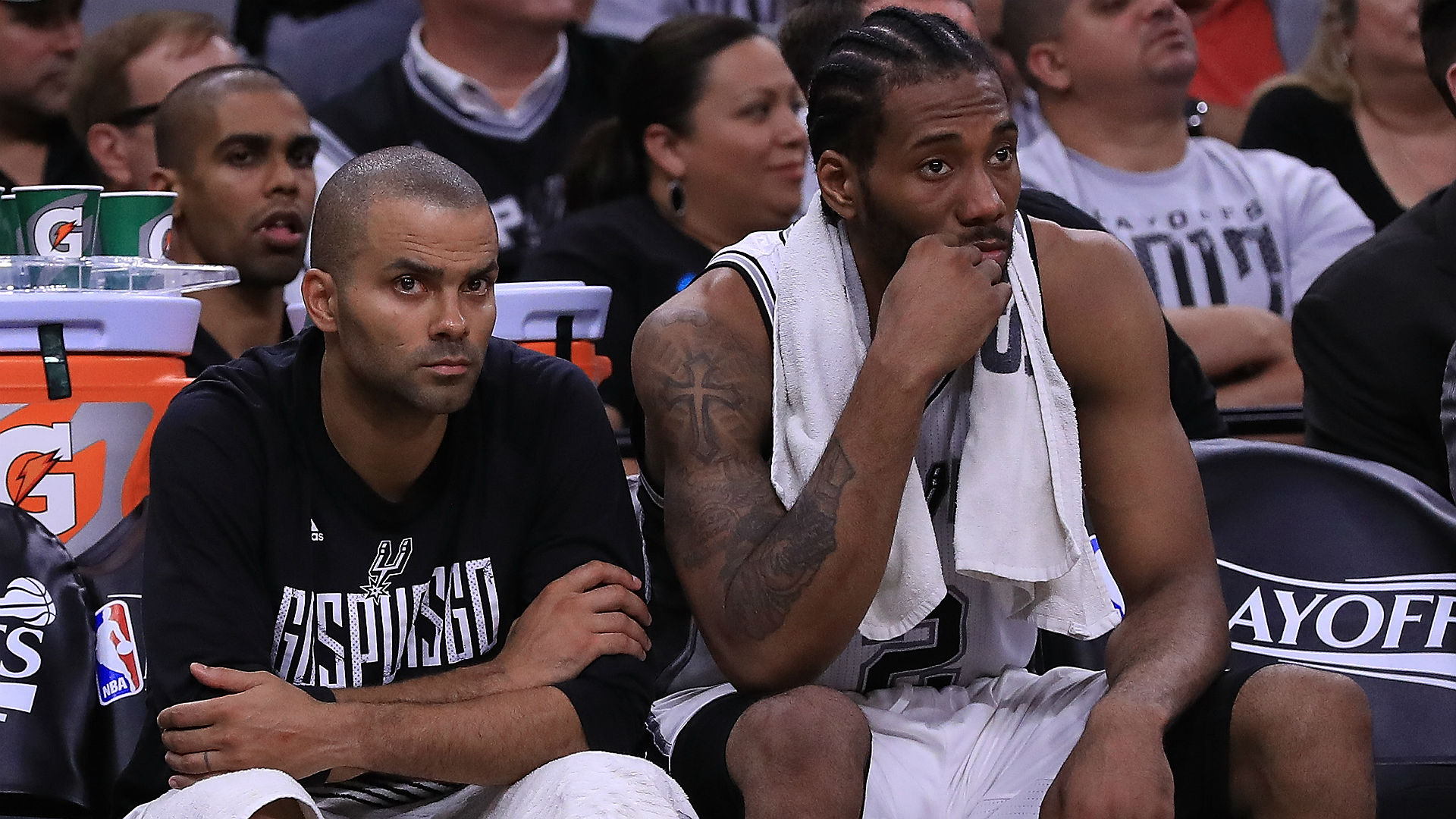 Former Spurs guard Tony Parker says he has no problem with Kawhi Leonard