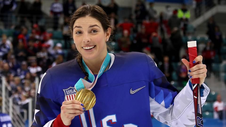 Face of U.S. women's hockey Hilary Knight signs with ... Hilary Knight