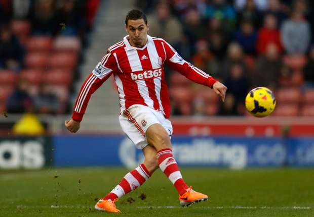 Stoke City full-back Geoff Cameron