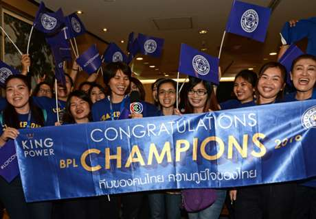 Leicester arrives in Thailand