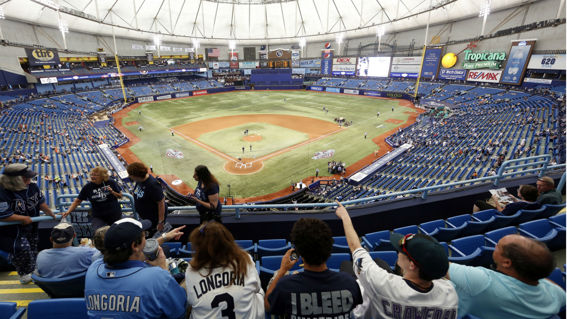 Rays cleared to seek new stadium in Tampa Bay area | MLB ...