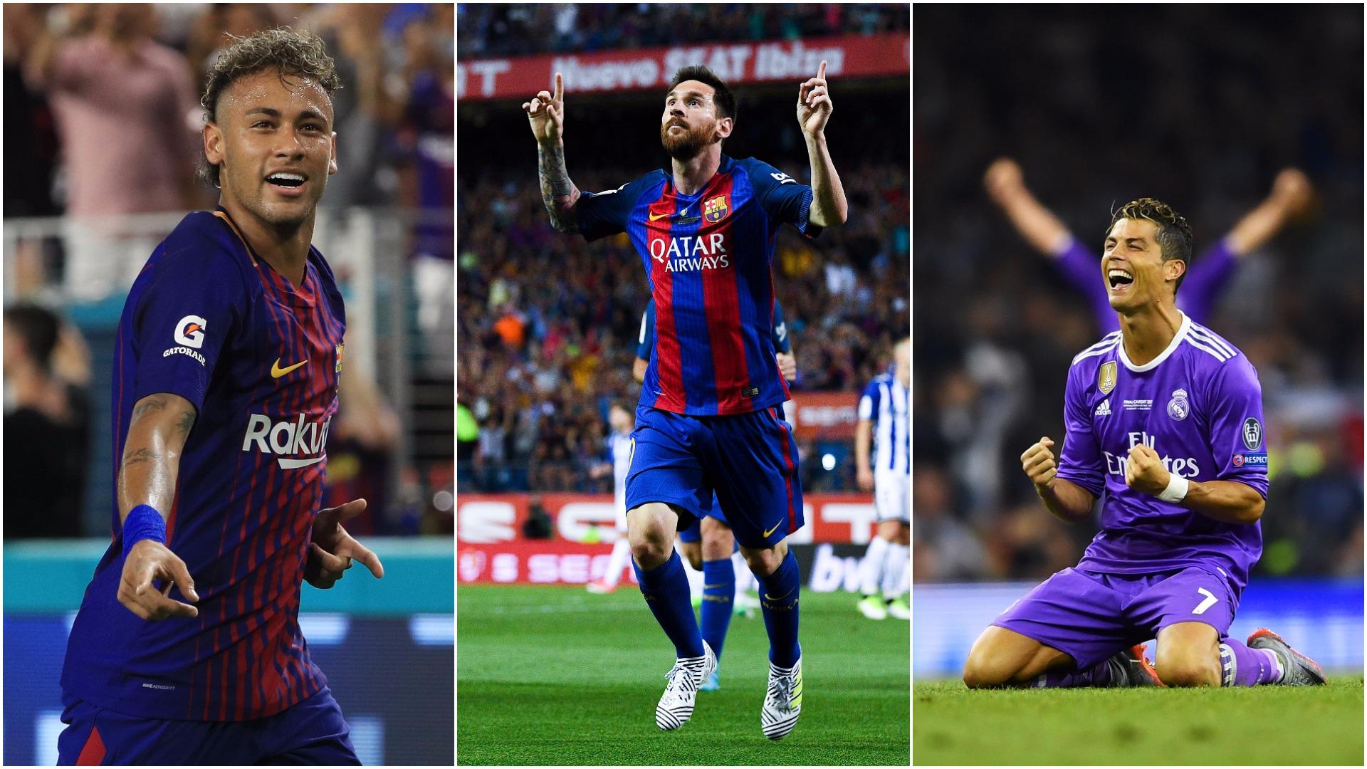 Talismanic Messi Ronaldo Way Ahead Of Psg New Boy Neymar