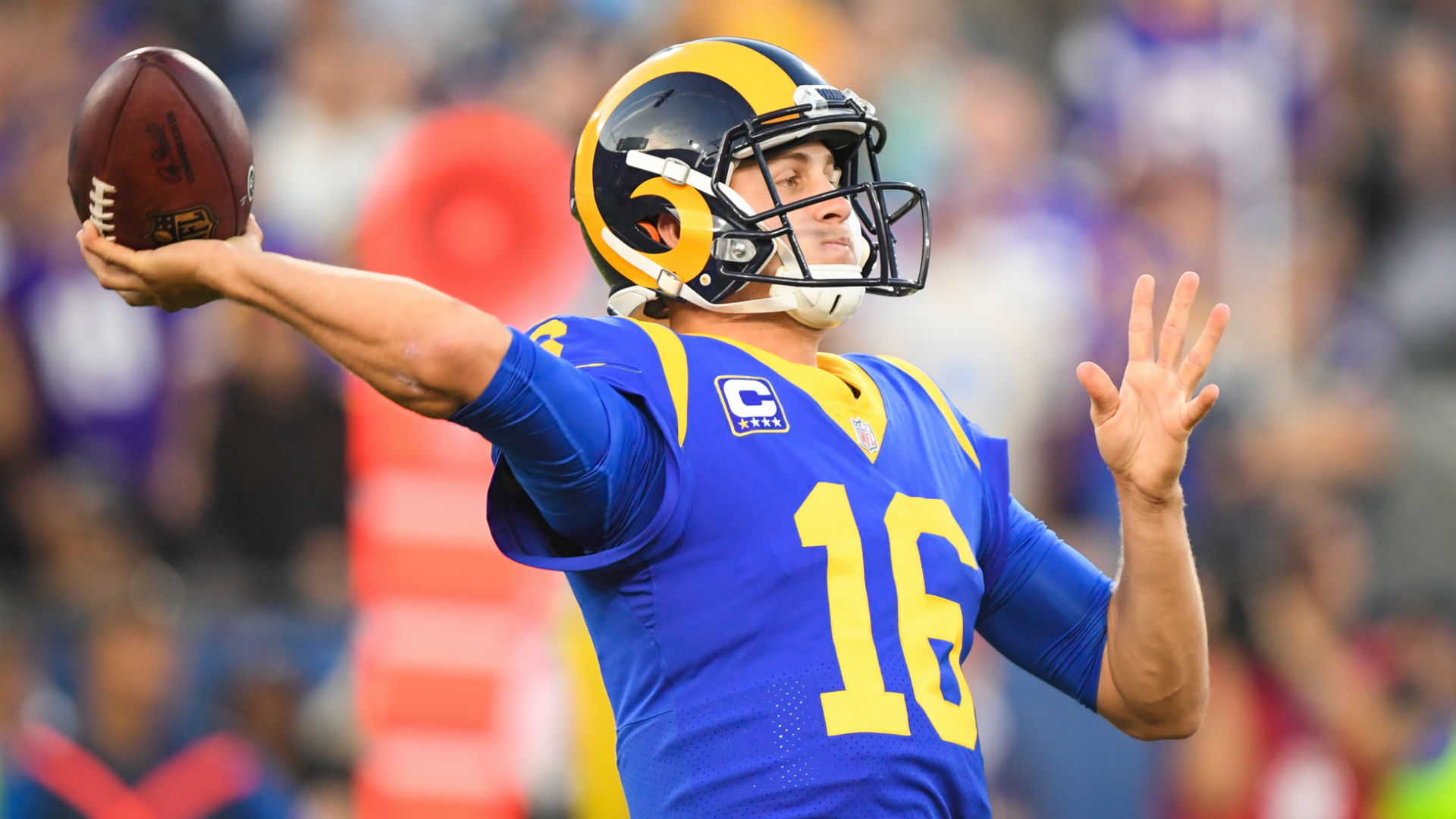 Rams Qb Jared Goff Went Nuts When He Heard About Halle