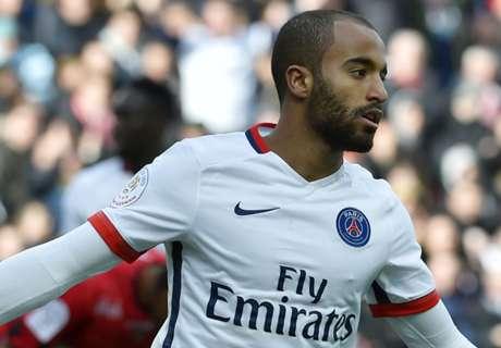 Guingamp 0-2 PSG: Lucas double