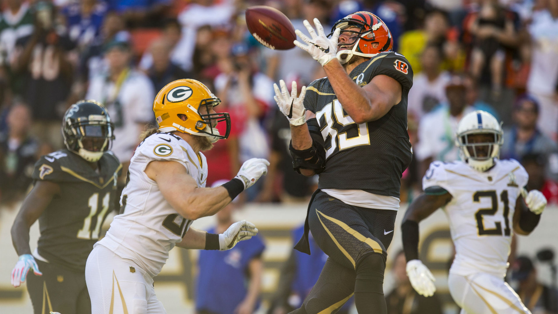 Bengals TE Tyler Eifert not going to Pro Bowl if selected