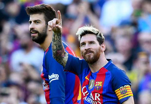Pique hopes Messi can stay at Barcelona for years after new deal