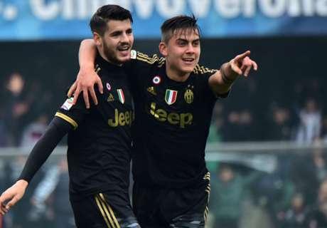 Ratings: Chievo 0-4 Juventus