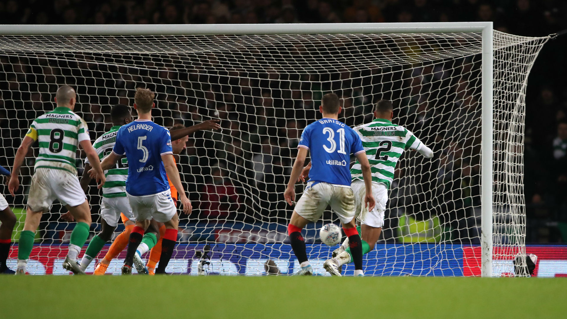 Rangers 0-1 Celtic: Lennon's side claim 10th consecutive domestic trophy