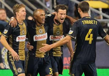 Orlando 2-2 Philadelphia: Tribbett equalizer