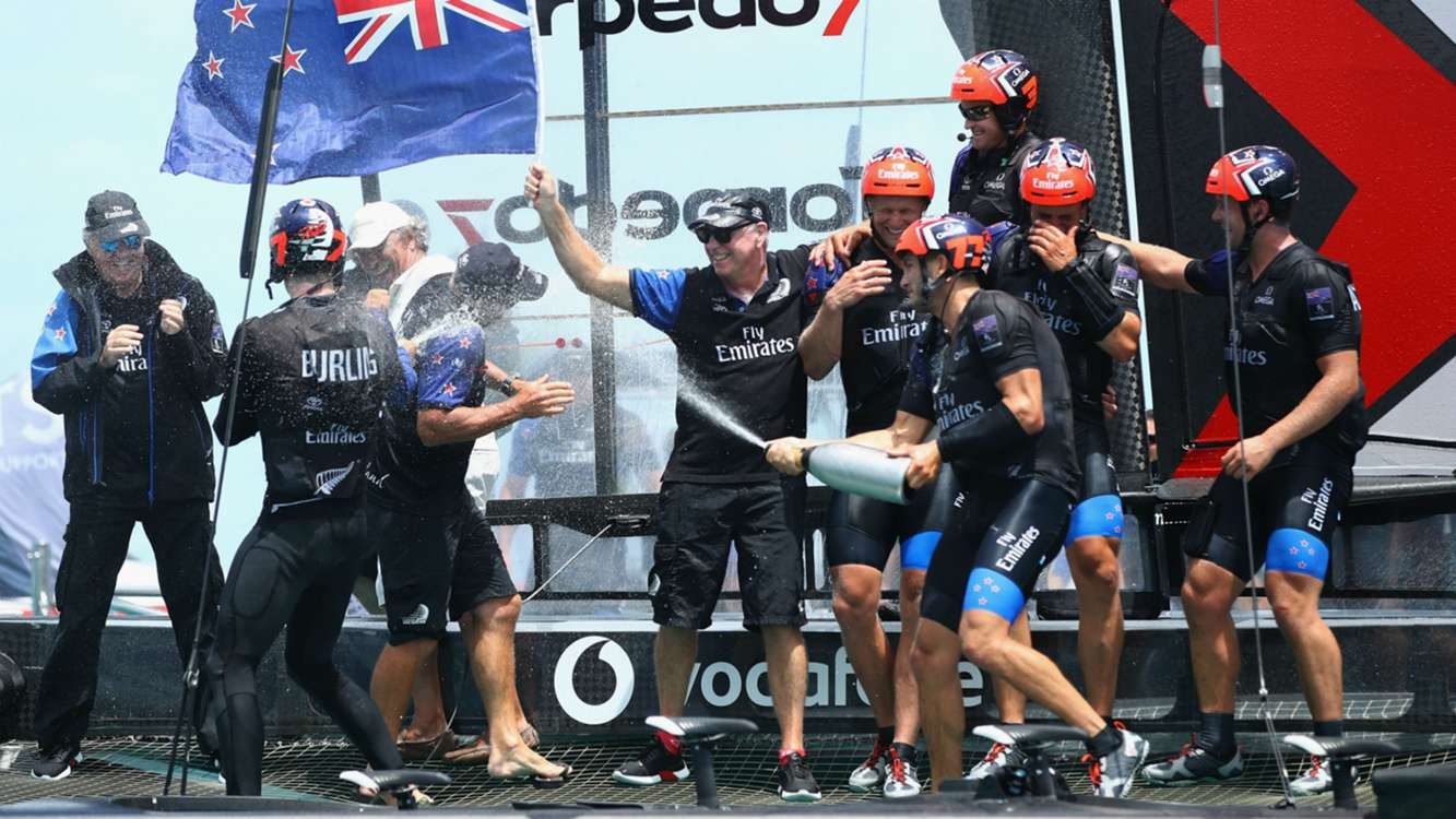 Dominant New Zealand seal America's Cup success