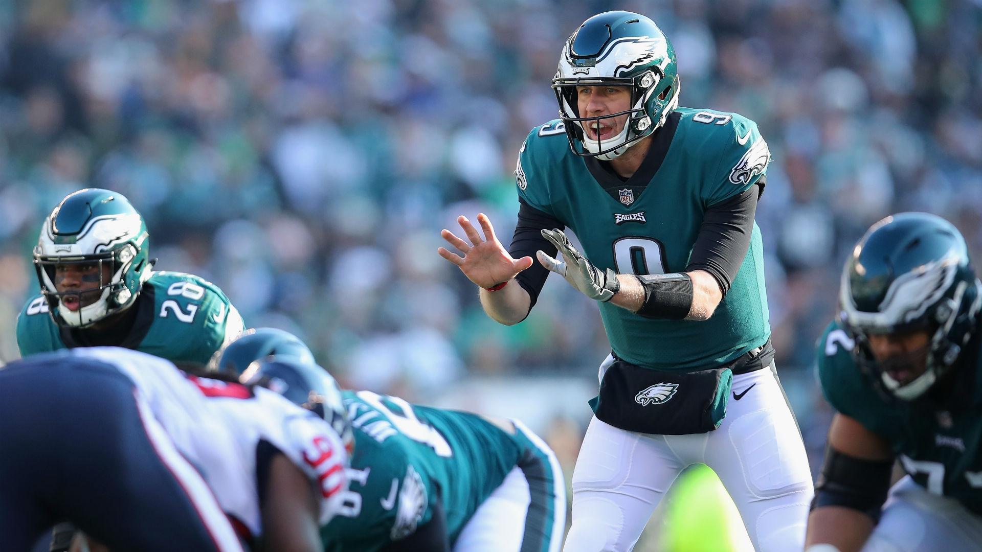 Eagles QB Nick Foles will start vs. Redskins, coach Doug Pederson says