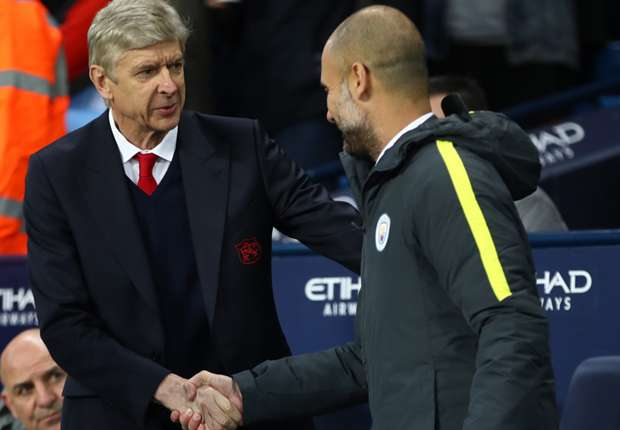 Tokeo la picha la Pep Guardiola and Wenger