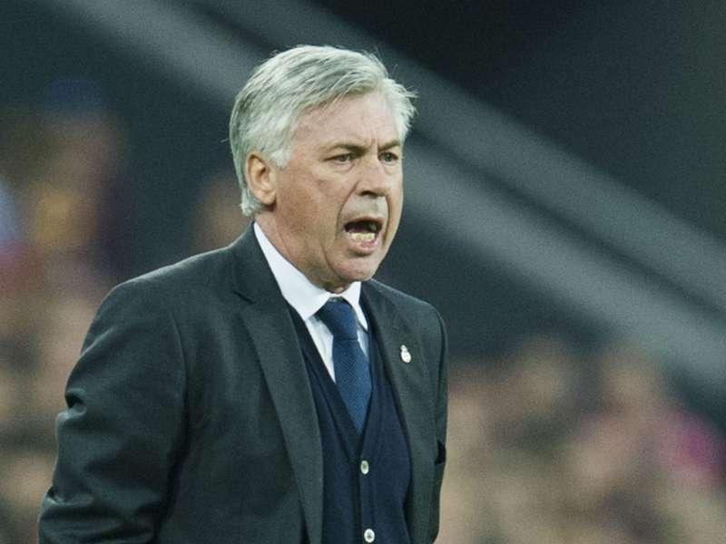 Real Madrid coach Carlo Ancelotti