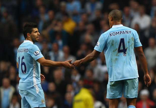 Kompany: Aguero provides 'fear factor'