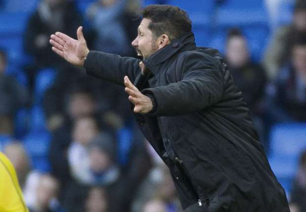 Simeone calms expectations after derby triumph