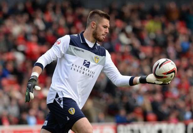 Stoke City loanee Butland relishing Leeds experience