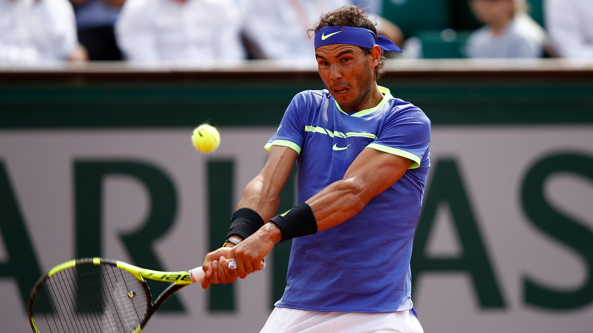 Nadal overwhelms Basilashvili in third round