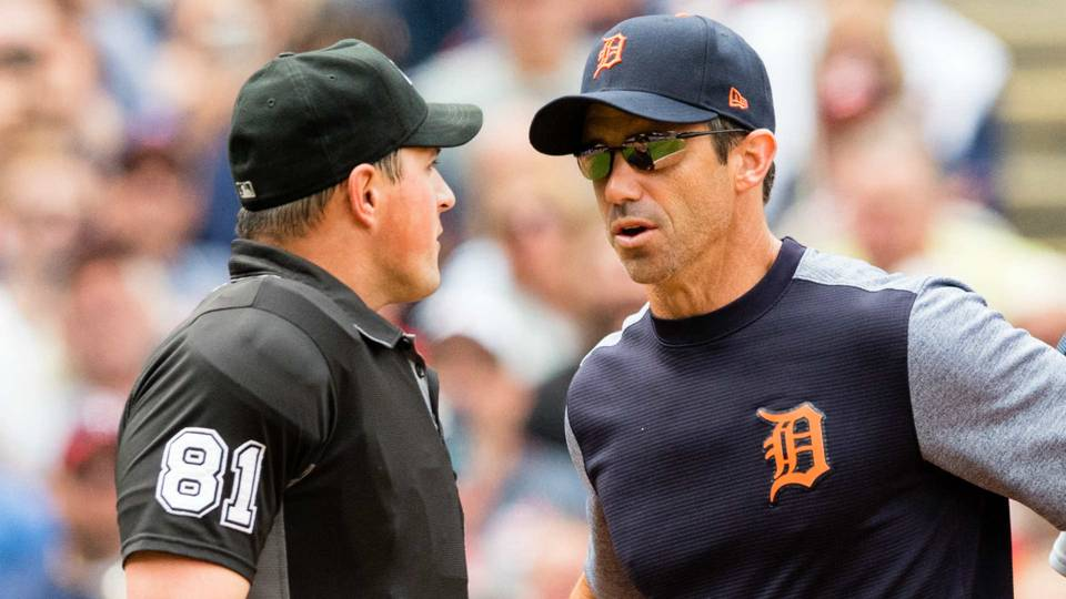 MLB concludes Tigers did not intentionally hit umpire ...