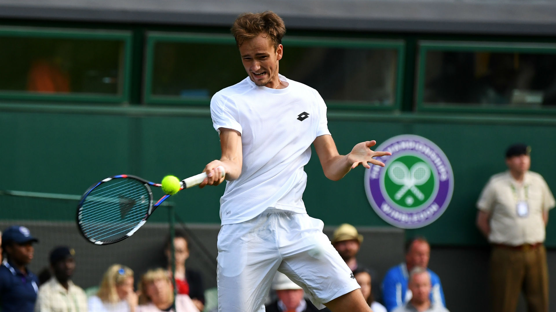 Medvedev Upsets Wawrinka in Winning Wimbledon Debut