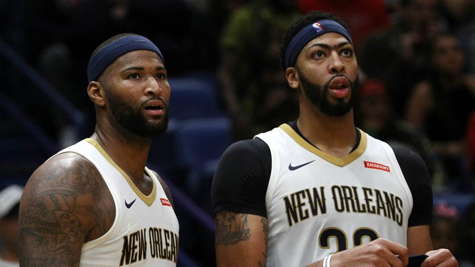 0114fade8 NBA free agency rumors  Anthony Davis didn t want DeMarcus Cousins back  with Pelicans