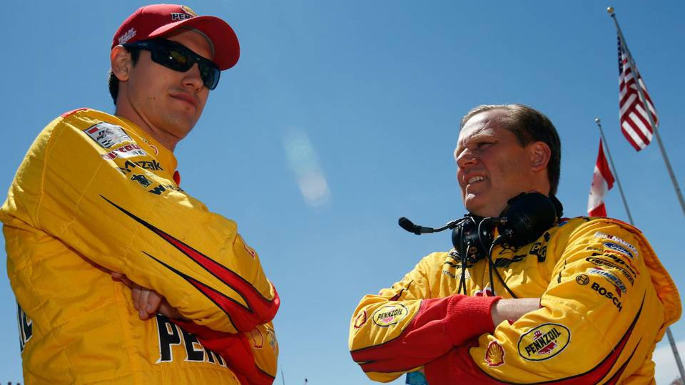 Joey Logano, Todd Gordon