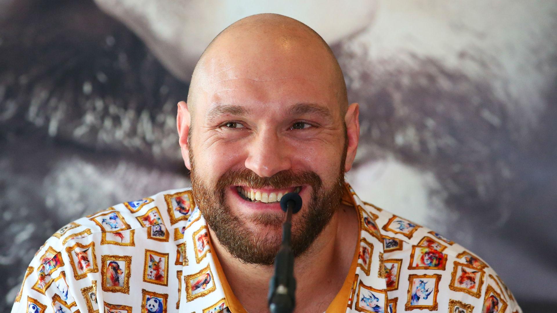 Fury Wants Five Fights In 2018