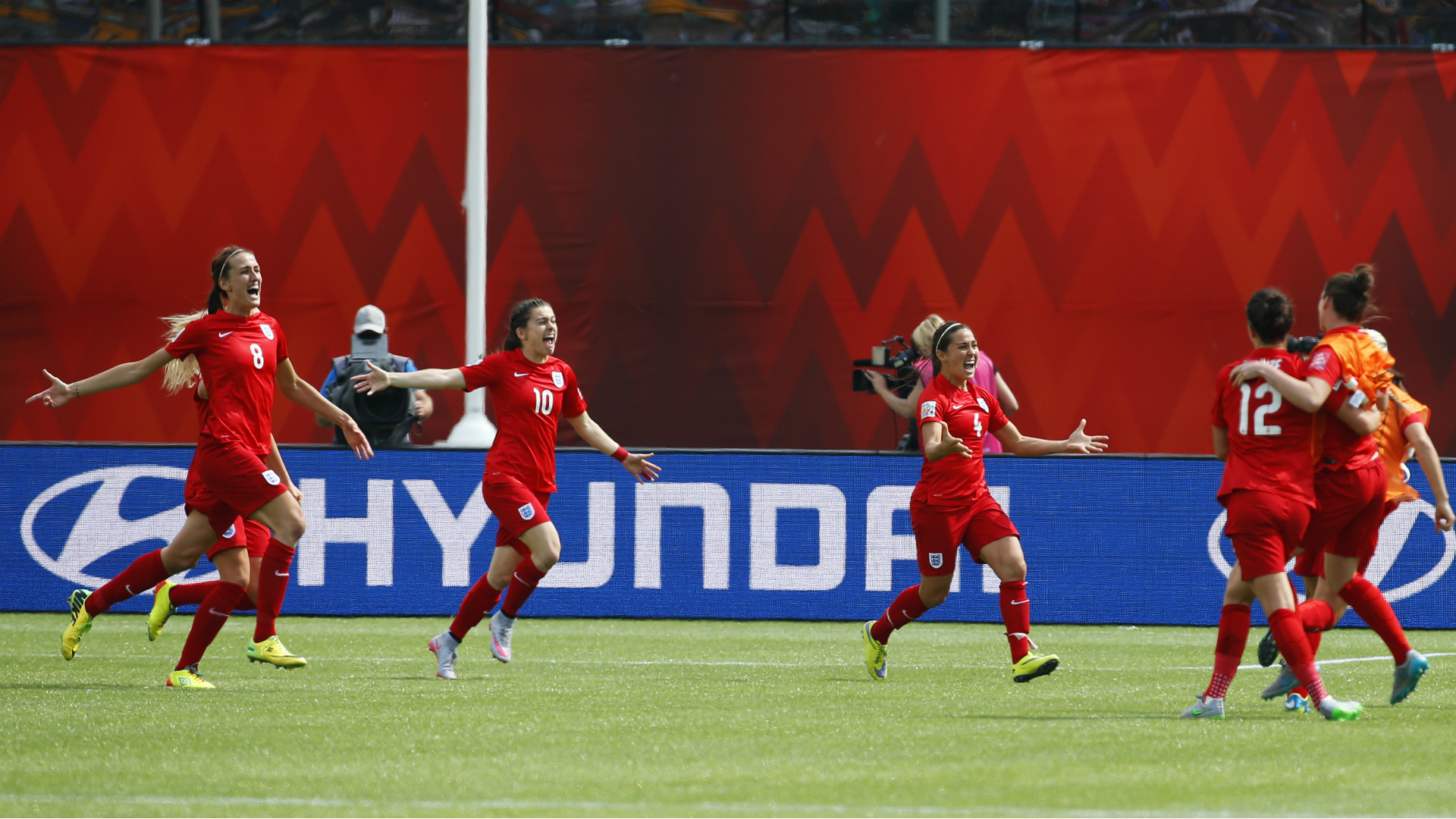 England makes Women's World Cup history with third-place win over Germany