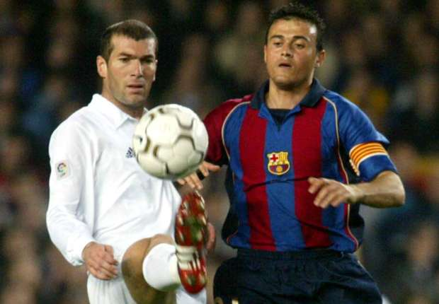 Luis Enrique plays down past Zidane clash: I respect him as a colleague