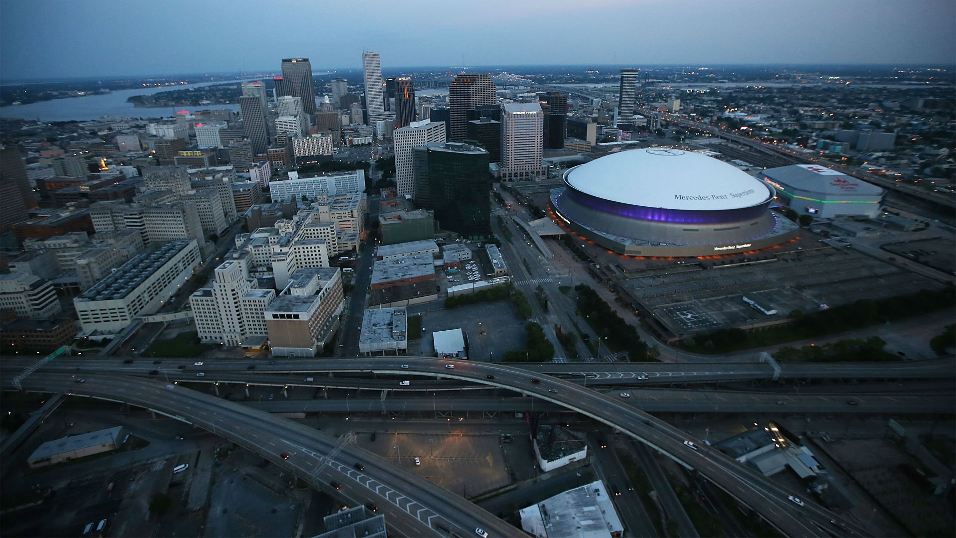 Superdome officials offer up venue for houston lsu byu game for Mercedes benz new orleans service