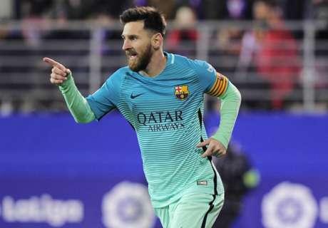 'Messi talks progressing very well'