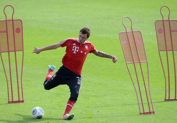 Gekommen, um zu bleiben: Ist Mario Mandzukic im Sommer noch bei den Bayern?